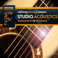 Studio Acoustics - Guitar Riffs 'n' Rhythms - Acoustic guitar loops and patches that are tune ready for producers worldwide