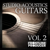 Studio Acoustics Guitars Vol.2 - Acoustic Guitars guaranteed to add colour, warmth, and melody to any production