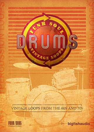Funk Soul Vintage Drum Loops - A 3.5 GB collection of beats inspired by classic Funk, Soul, and R&B