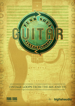 Funk Soul Vintage Guitar Loops - An archive of vintage Funk, Soul, and R&B rhythm guitar loops and licks
