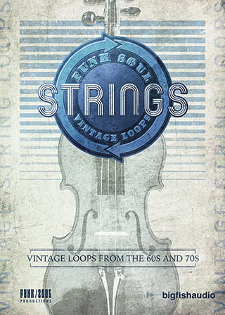 Funk Soul Vintage String Loops - Over a thousand violin phrases inspired by classic Funk, Soul, and R&B