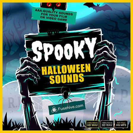 SPOOKY HALLOWEEN SOUND EFFECTS LIBRARY - A huge collection of high quality scary sounds