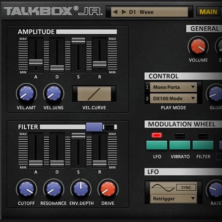 Talkbox Jr - Talkbox sound/synthesis library