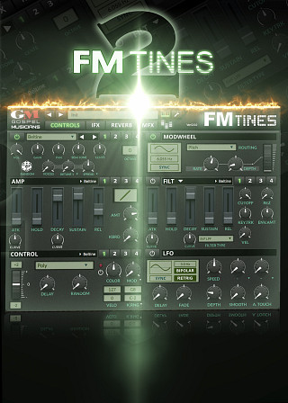 FM TiNES 2 - The most exhaustive FM, Dyno, Crystal, Tine, Bell & electric piano library ever