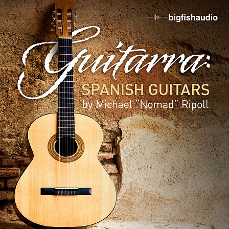 "Guitarra: Spanish Guitar Loops - Spanish Guitar Loops by Michael ""Nomad"" Ripoll"