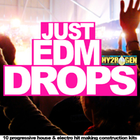Just EDM Drops - 760MB+ of pure mainroom progressive & electro house content