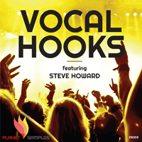 Vocal Hooks Featuring Steve Howard product image