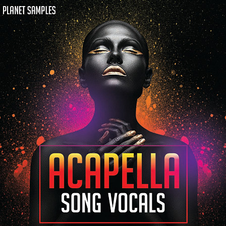 Acapella Song Vocals - Maximum flexibility for different Dance production styles
