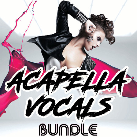 Acapella Vocals Bundle - Featuring four of Planet Samples' bestselling acapella vocal packs