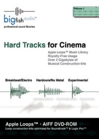 Hard Tracks for Cinema - Apple Loops Library - 2 Gigs of Hardcore Cinema tracks for Apple's Loops