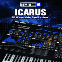 Icarus - Powerful Synthesizer with 3D Wavetable Synthesis