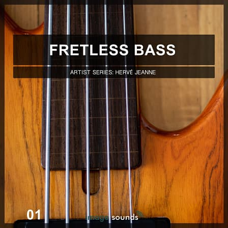 Fretless Bass 1 - Gnarly Low End Bass Loops - Give the fretless bass a well-deserved spotlight your studio