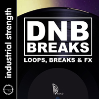 Dread – Drum & Bass Breakbeats - A tight collection of well-produced Breaks, Top Loops and effected filter Fx