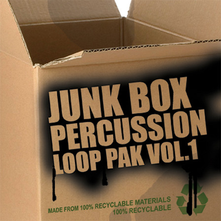 Junk Box Percussion Pak Vol.1 - Experimental household percussion loops