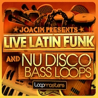 Live Latin Funk And Nu Disco Bass Loops product image