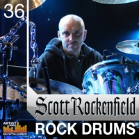 Scott Rockenfield Rock Drums - If you are looking for the sound of pure Rock Drums look no further