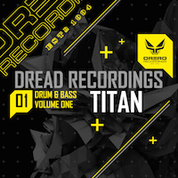 Dread Recordings Vol 1 - Titan - 464 MB of Jungle and D&B sounds ready to shake it up