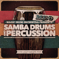 Magic Drum Orchestra - Samba Drums & Percussion, The product image