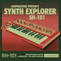 Synth Explorer - SH101 - The classic 1983 Roland SH101 at your fingertips