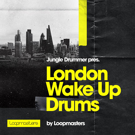 Jungle Drummer - London Wake Up Drums - A blend of Jazz improvisation with British Electronica, solid Funk, and more