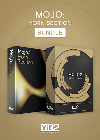 MOJO: Horn Section Bundle - Get both editions of the greatest horn libraries in one sleek bundle