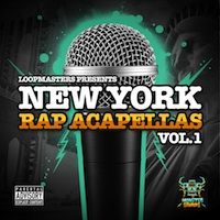 New York Rap Acapellas Vol.1 - From the best MC's in NYC
