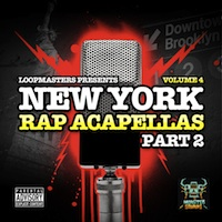 New York Rap Acapellas Part 2 product image