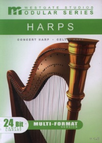 Celtic Harp Modular Series Download - Celtic Harp library with state-of-the-art programming