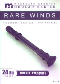 Whistles and Winds Modular Series Download - Comprehensive Whistle and Ocarina library with state-of-the-art programming