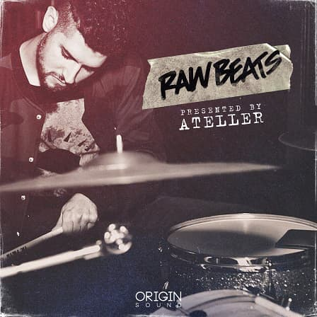 Raw Beats - A colossal collection of live drum loops