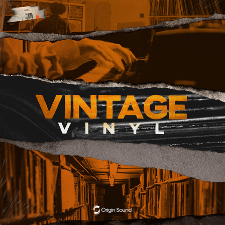 Vintage Vinyl - Oldschool Hip Hop - A pack infused with authentic vinyl crackles & noise, perfect for dusty hip hop