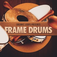 Frame Drums - A tribal collection of upbeat percussion sounds from the frame drum