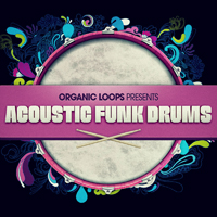 Acoustic Funk Drums - A brand new collection of hot and funky drum loops