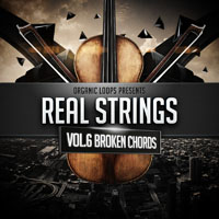 Real Strings Vol.6 - Broken Chords - A library of violins, performing the distinctive texture of rolling arpeggios