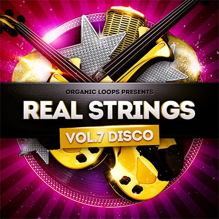 Real Strings Presents - Disco Strings Vol2 product image