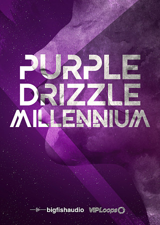 Purple Drizzle: Millennium - 55 Future Hip Hop, Trap and RnB Construction Kits