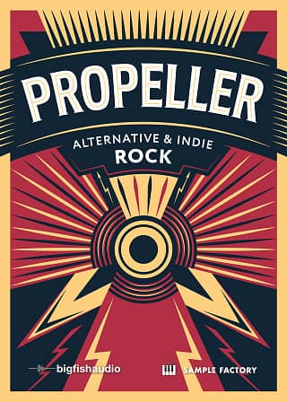 Propeller: Alternative & Indie Rock - A 6 GB+ collection of vivid, fat, and dirty Indie and Alternative sounds