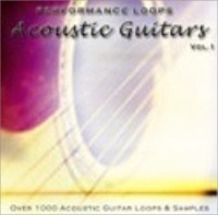 Performance Loops - Acoustic Guitars - Acoustic guitar loops in folk, rock, pop, country, jazz, funk and more