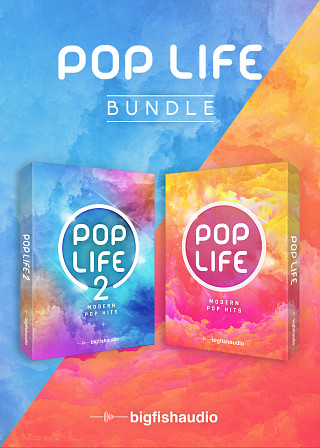 Pop Life Bundle - Two modern Pop construction kit libraries at a stellar bundled price