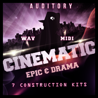 Cinematic Epic & Drama - Huge dramatic melodies and harmonic developments