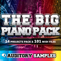 Big Piano Pack, The - A colossal collection perfect for your next production