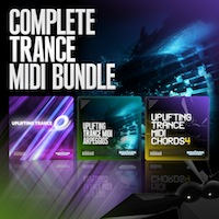 Complete Trance MIDI Bundle - Top notch trance for you next production