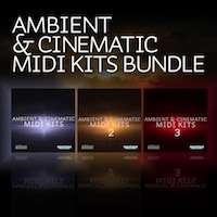 Ambient & Cinematic MIDI Kits Bundle (Vols 1-3) product image