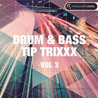 Drum & Bass Tip Trixxx Vol.3 - Drum & Bass is on the rise with the third volume in this hit series