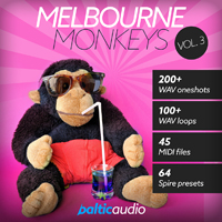 Melbourne Monkeys Vol 3 - Everything you need to create Melbourne Bounce hits