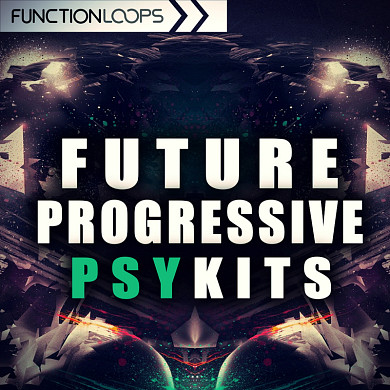 Future Progressive Psy Kits - Over 180 files including drums, basslines, FX loops, leads and more!