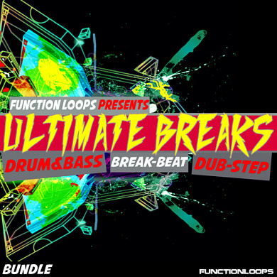 Ultimate Breaks Bundle - Almost 600 MB of original and inspiring content