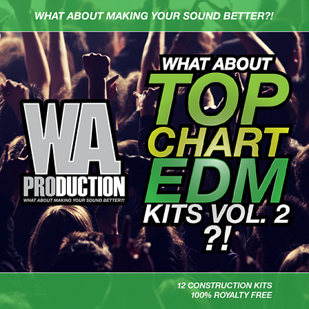 What About Top Chart EDM Kits Vol 2 - The second volume of the Top Chart EDM Kits