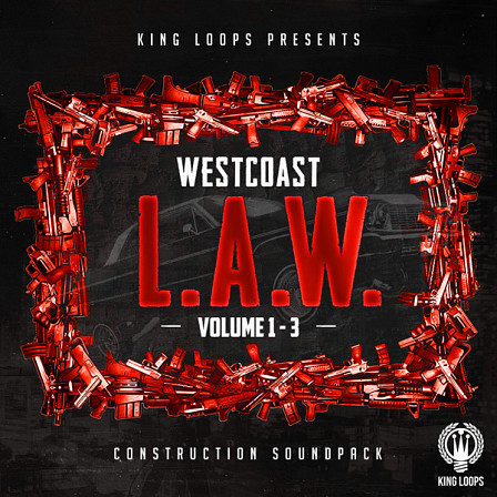 West Coast L.A.W. Bundle (Vols 1-3) - The total package to create the hottest West Coast and more