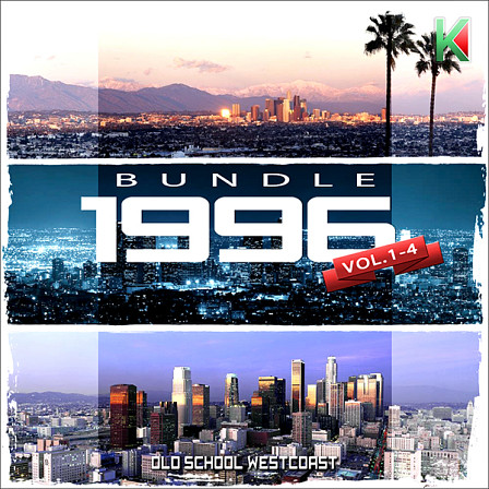 1996 Bundle (Vols 1-4) - A combination of the Old School West Coast music library